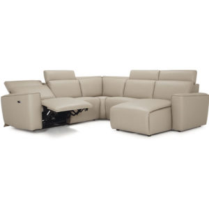 springfield leather sectional